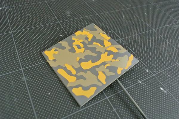 クラウド迷彩マスキングテープ