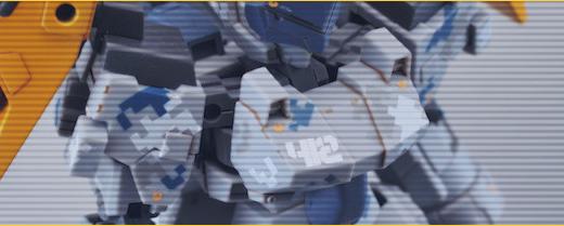 ピクセル迷彩デカール使用例「漸雷強襲装備型」