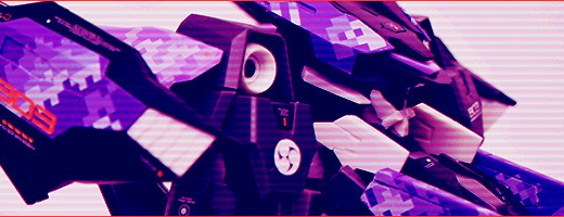ピクセル迷彩デカール使用例「ゼルフィカール/NE」