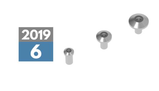 2019年6月中旬発売予定 「BLリベット3サイズ」