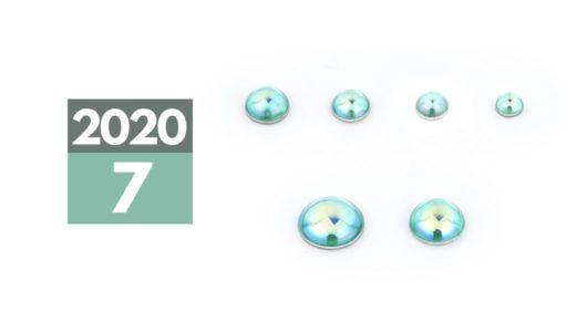 2020年7月中旬発売「VCドーム3」グリーン 2サイズ